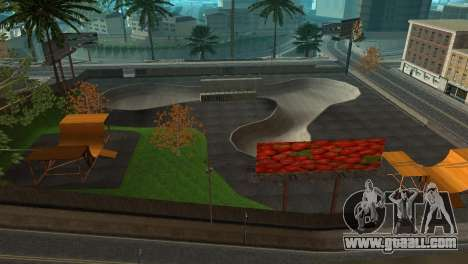 Texture the skate Park and a hospital in Los San for GTA San Andreas third screenshot
