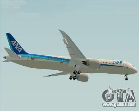 Boeing 787-9 All Nippon Airways for GTA San Andreas side view