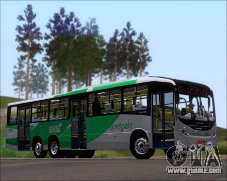 Comil Svelto BRT Scania K310IB 6x2 Sorocaba for GTA San Andreas back left view