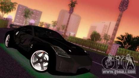 Nissan 350Z Veiside DK for GTA Vice City