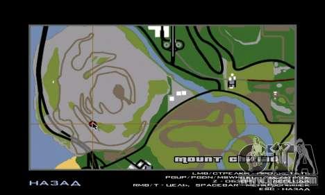 Sasquatch (Bigfoot) on mount Chiliad for GTA San Andreas forth screenshot