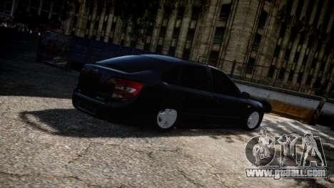 Lada Granta for GTA 4 upper view