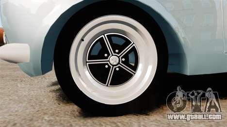 Peugeot 504 for GTA 4 back view