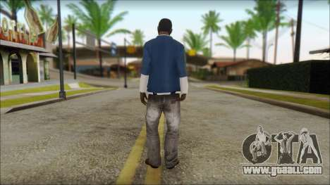 Franklin from GTA 5 for GTA San Andreas second screenshot