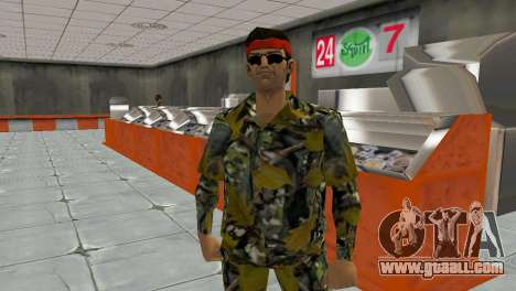 Camo Skin 16 for GTA Vice City third screenshot