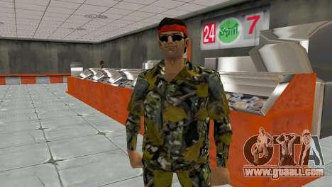 Camo Skin 16 for GTA Vice City third screenshot