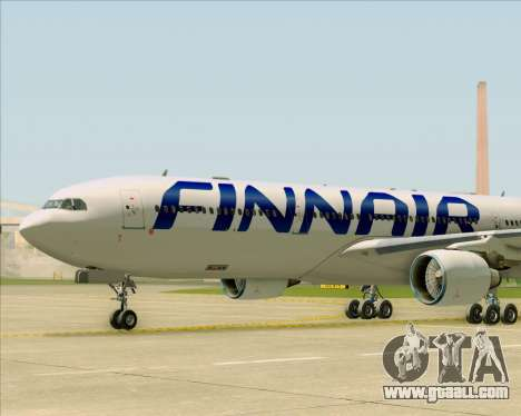 Airbus A330-300 Finnair (Current Livery) for GTA San Andreas bottom view