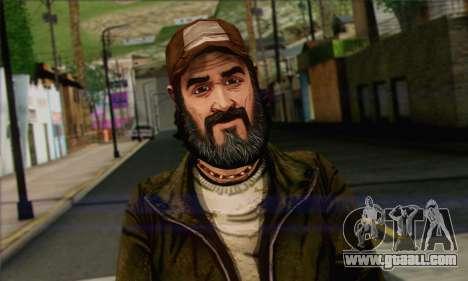 Kenny from The Walking Dead v2 for GTA San Andreas third screenshot