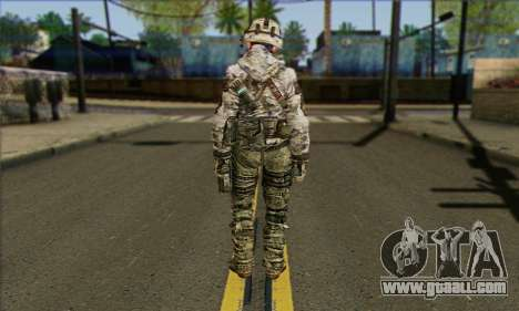 Task Force 141 (CoD: MW 2) Skin 2 for GTA San Andreas second screenshot