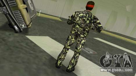 Camo Skin 03 for GTA Vice City third screenshot
