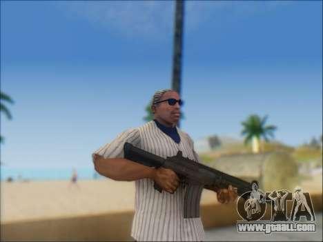 Israeli carbine ACE 21 for GTA San Andreas tenth screenshot