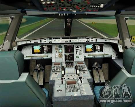 Airbus A380-861 Air France for GTA San Andreas interior