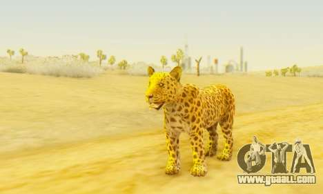 Leopard (Mammal) for GTA San Andreas