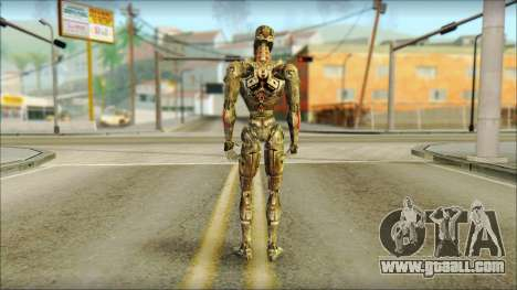 T900 (Terminator 3: war of the machines) for GTA San Andreas second screenshot