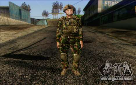 British soldiers (ArmA II: BAF) v1 for GTA San Andreas