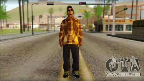 Eazy E Lumberjack Skin for GTA San Andreas
