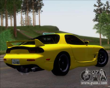 Mazda RX-7 FD3S A-Spec for GTA San Andreas right view