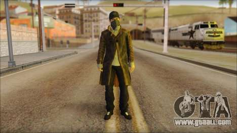 Aiden Pearce from Watch Dogs for GTA San Andreas