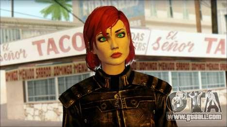 Mass Effect Anna Skin v5 for GTA San Andreas third screenshot