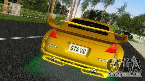 Nissan 350Z Veiside Chipatsu for GTA Vice City back left view