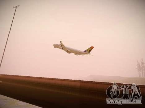 Airbus A340-300 South African Airways for GTA San Andreas inner view