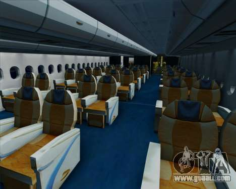 Airbus A380-800 All Nippon Airways (ANA) for GTA San Andreas wheels