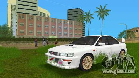 Subaru Impreza WRX STI GC8 Sedan Type 3 for GTA Vice City