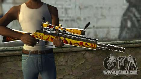 Nitro Sniper Rifle for GTA San Andreas third screenshot