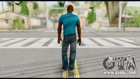 Blue Shirt Vic for GTA San Andreas second screenshot