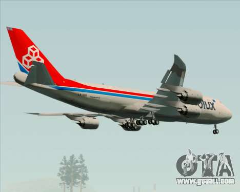 Boeing 747-8 Cargo Cargolux for GTA San Andreas engine