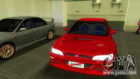 Subaru Impreza WRX STI GC8 22B for GTA Vice City right view