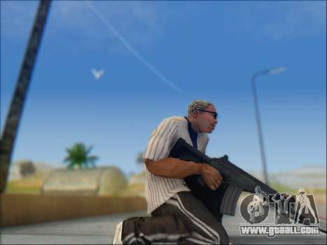 Israeli carbine ACE 21 for GTA San Andreas eighth screenshot