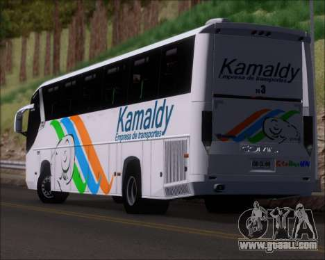 Comil Campione 3.45 Scania K420 Kamaldy for GTA San Andreas upper view