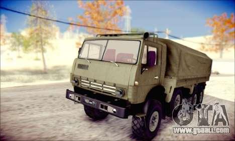 The KamAZ-6350 (APT) for GTA San Andreas