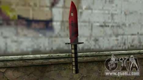 Bayonet M9 for GTA San Andreas second screenshot