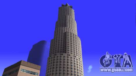HD texture four skyscrapers in Los Santos for GTA San Andreas seventh screenshot