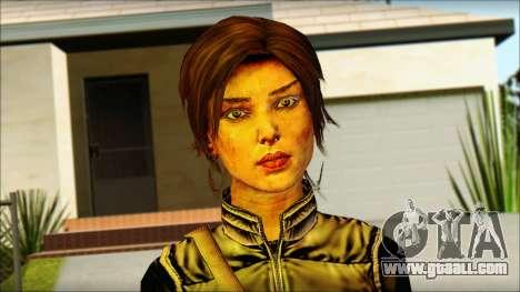 Tomb Raider Skin 1 2013 for GTA San Andreas third screenshot