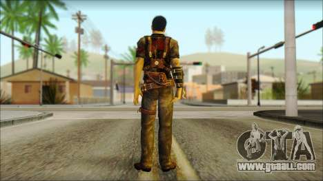 Wei Shen From Sleeping Dogs for GTA San Andreas second screenshot