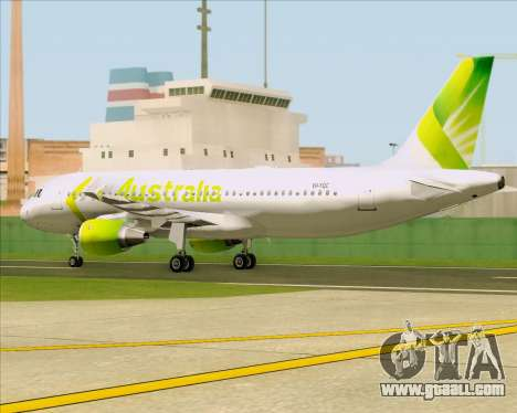 Airbus A320-200 Air Australia for GTA San Andreas inner view