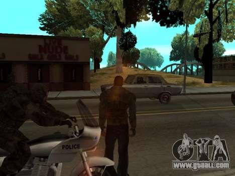 Pants bandit from Stalker for GTA San Andreas third screenshot
