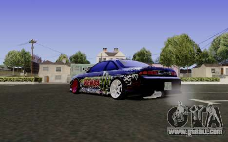 Nissan Silvia S14 Monster Energy for GTA San Andreas left view