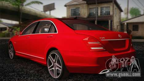 Mercedes-Benz S70 W221 for GTA San Andreas left view