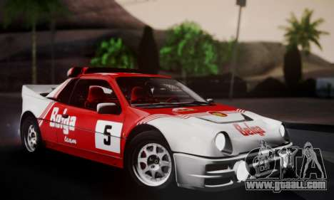Ford RS200 Evolution 1985 for GTA San Andreas wheels