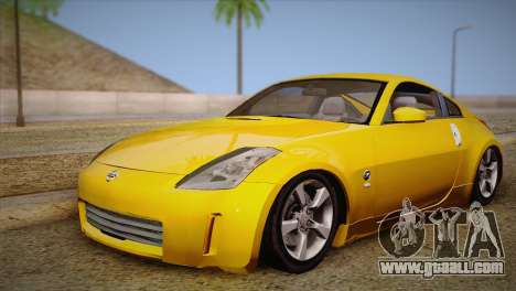 Nissan 350Z Turkey Tuned Drift for GTA San Andreas