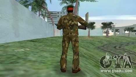 Camo Skin 02 for GTA Vice City third screenshot