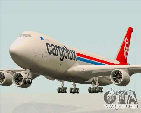 Boeing 747-8 Cargo Cargolux for GTA San Andreas