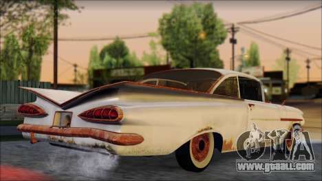 Chevrolet Biscayne 1959 Ratlook for GTA San Andreas left view