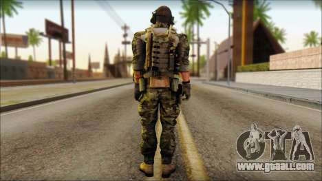 Engineer from BF4 for GTA San Andreas second screenshot