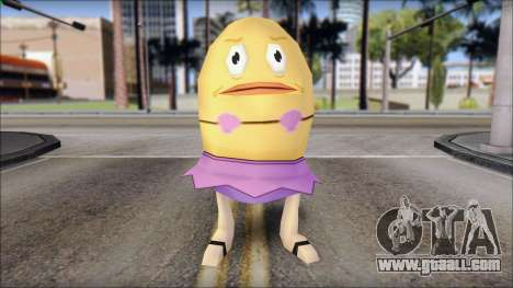 Biklad from Sponge Bob for GTA San Andreas