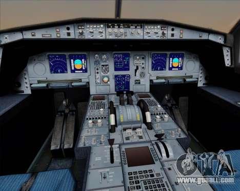 Airbus A330-300 Air Berlin for GTA San Andreas wheels